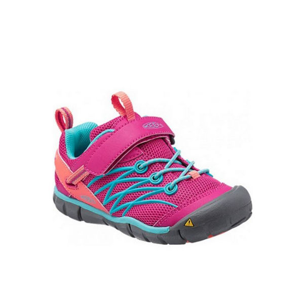Image sur SOULIERS DE COURSE SUR ROUTE KEEN CHANDER CNX ROSE/ORANGE POUR JUNIOR