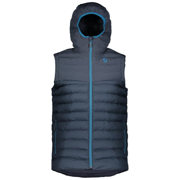 Image sur MANTEAU DE SKI ALPIN SCOTT INSULOFT 3M VEST BLUE NIGHTS