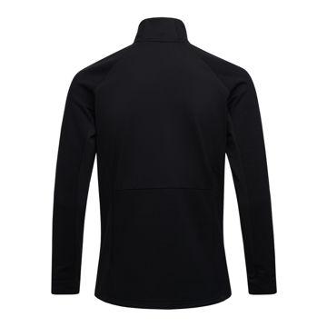 Picture of PEAK PERFORMANCE ALPINE SKI SWEATER VERTICAL MID ZIP BLACK FOR MEN