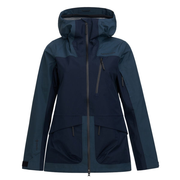 Image sur MANTEAU DE SKI ALPIN PEAK PERFORMANCE VERTICAL 3L BLUE STEEL POUR FEMME