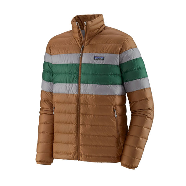 Picture of MANTEAU DE SKI ALPIN PATAGONIA DOWN SWEATER BEECH BROWN POUR HOMME