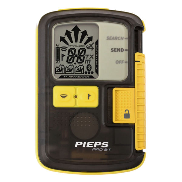 Picture of PIEPS PRO BT AVALANCHE BEACON YELLOW