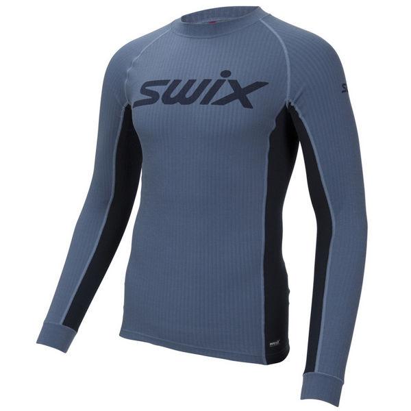 Image sur CHANDAIL DE SKI DE FOND SWIX RACEX BODYWEAR BLUE SEA POUR HOMME