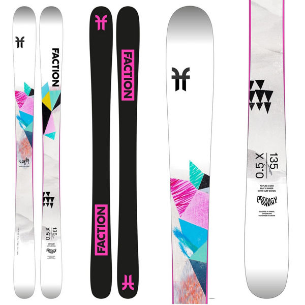 Picture of FACTION ALPINE SKIS PRODIGY 0.5 WHITE 2021 FOR JUNIORS