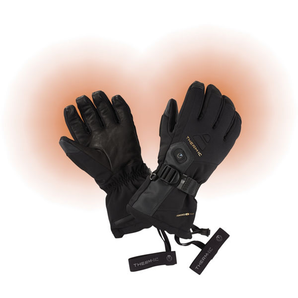 Picture of THERM-IC HEATED SKI GLOVES ULTRA HEAT BLACK FOR MEN