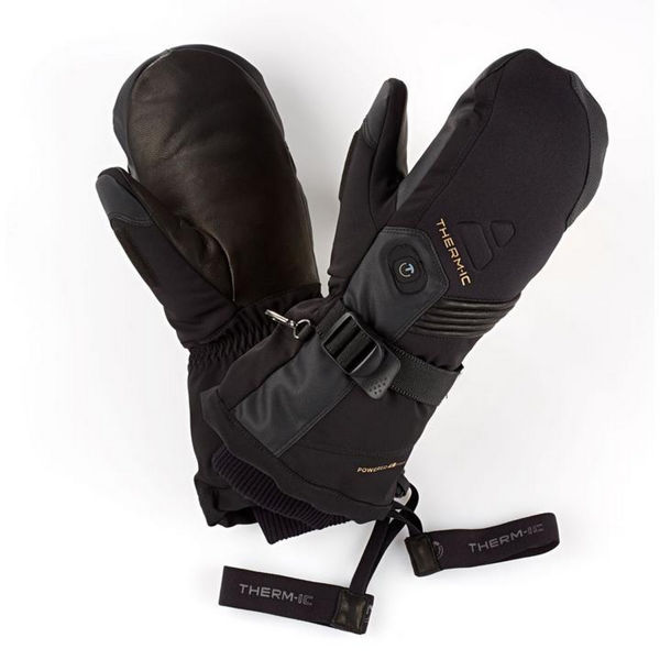 Picture of THERM-IC HEATED MITTENS ULTRA HEAT BLACK FOR MEN