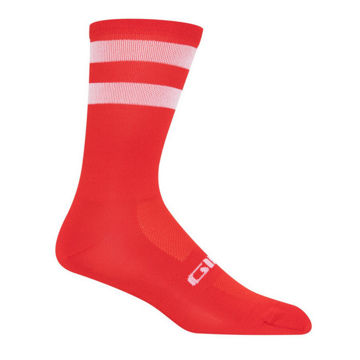 Picture of GIRO SOCKS COMP HIGH RISE RED