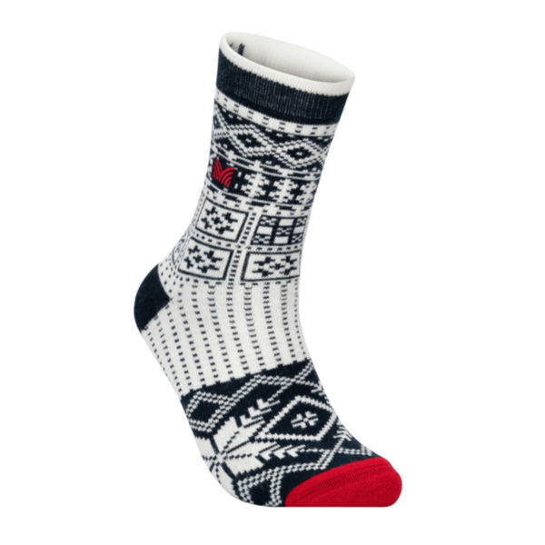 Picture of DALE OF NORWAY SOCKS OL HISTORY CREW CUT NAVY OFFWHITE RASPBERRY