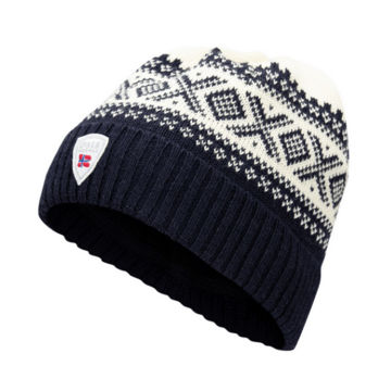 Image de TUQUE DALE OF NORWAY CORTINA HERON NAVY OFFWHITE