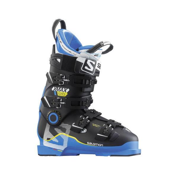 Picture of SALOMON APLINE SKI BOOTS X-MAX 120 BLUE/BLACK FOR MEN