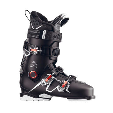 Picture of SALOMON APLINE SKI BOOTS QST PRO 90 BLACK/RED FOR MEN