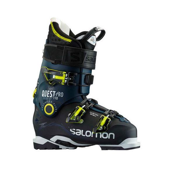 Picture of SALOMON APLINE SKI BOOTS QUEST PRO 110 BLACK/BLUE FOR MEN