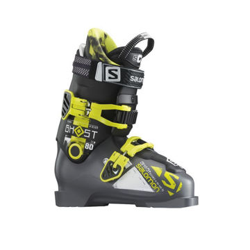 Picture of SALOMON APLINE SKI BOOTS GHOST FS 80 BLACK/YELLOW FOR MEN