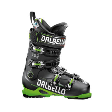Picture of DALBELLO APLINE SKI BOOTS AVANTI 120 MS BLACK/GREEN FOR MEN