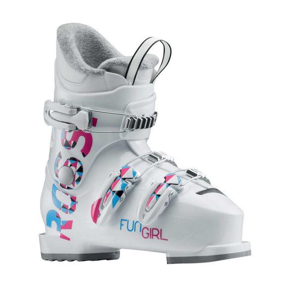Picture of ROSSIGNOL APLINE SKI BOOTS FUN GIRL J3 WHITE FOR JUNIORS
