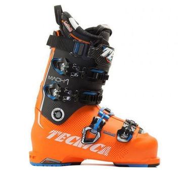 Picture of TECNICA APLINE SKI BOOTS MACH1 130 MV ORANGE/BLACK FOR MEN
