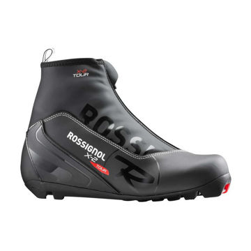 Picture of ROSSIGNOL CROSS COUNTRY SKI BOOTS X-2 CLASSIC BLACK