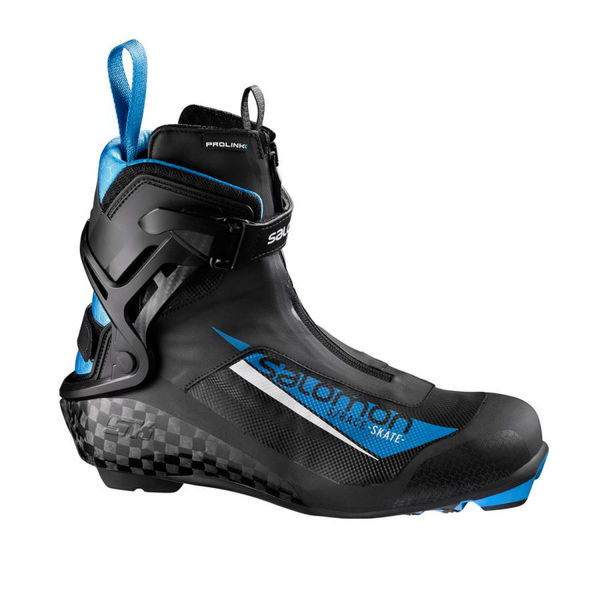 Picture of SALOMON CROSS COUNTRY SKI BOOTS S/RACE SKATE PROLINK BLACK/BLUE