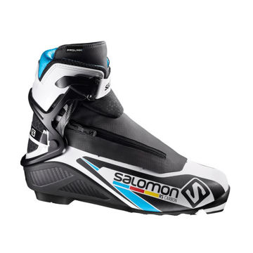 Picture of SALOMON CROSS COUNTRY SKI BOOTS RS CARBON PROLINK BLACK/WHITE FOR MEN