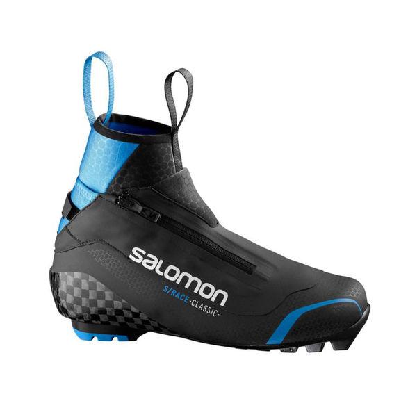 Image sur BOTTES DE SKI DE FOND SALOMON S/RACE CLASSIC PILOT NOIR/BLEU