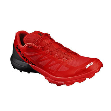 Picture of SALOMON TRAIL RUNNING SHOES S/LAB SENSE 6 SG RED FOR MEN