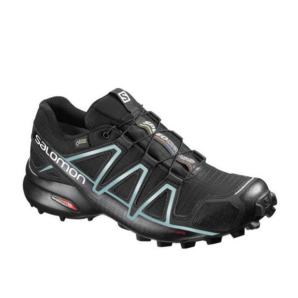 Picture of SALOMON TRAIL RUNNING SHOES SPEEDCROSS 4 GTX W BLACK/METAL FOR WOMEN