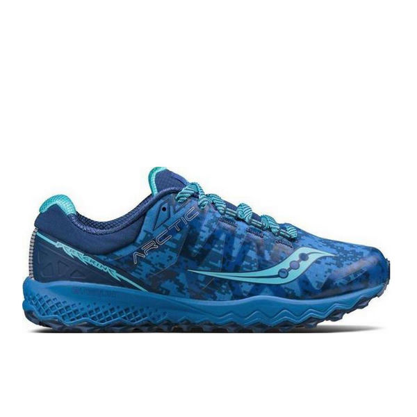 Picture of SAUCONY ROAD RUNNING SHOES PEREGRINE 7 ICE BLUE FOR WOMEN