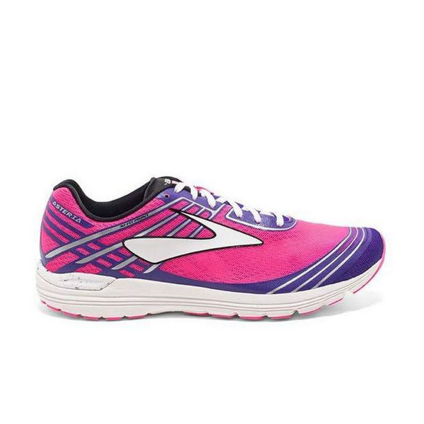 Picture of BROOKS ROAD RUNNING SHOES ASTERIA PINK/PURPLE FOR WOMEN