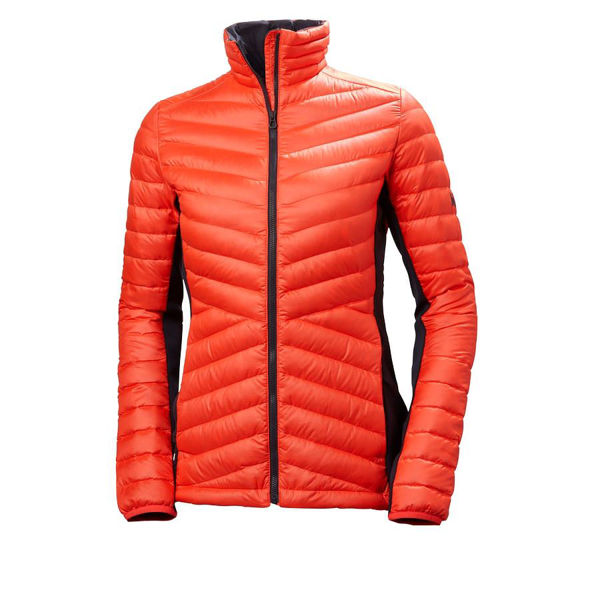 Picture of HELLY HANSEN ALPINE SKI JACKETS VERGLAS HYBRID INSULATOR NEON CORAL FOR WOMEN