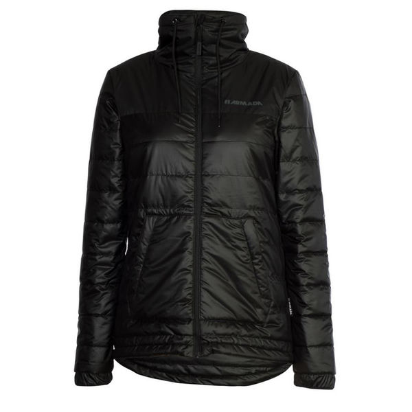 Picture of ARMADA ALPINE SKI JACKETS SOLSTICE INSULATOR BLACK FOR WOMEN