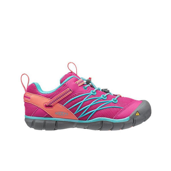 Picture of KEEN ROAD RUNNING SHOES CHANDLER CNX BERRY/CAPRI FOR JUNIORS