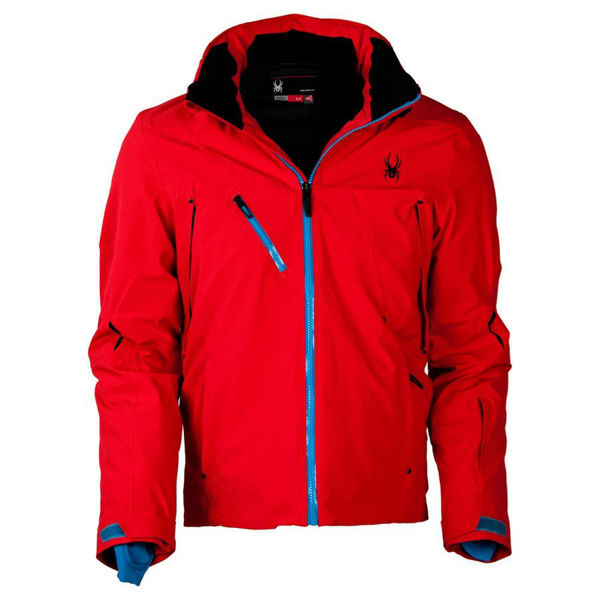 Picture of SPYDER ALPINE SKI JACKET ALYESKA RED FOR MEN