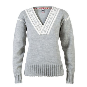 Picture of DALE OF NORWAY ALPINE SKI SWEATERS ALPINA GRAY FOR WOMEN
