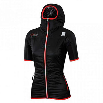 Picture of SPORTFUL CROSS COUNTRY SKI JACKET RHYTHMO EVO PUFFY BLACK FOR WOMEN
