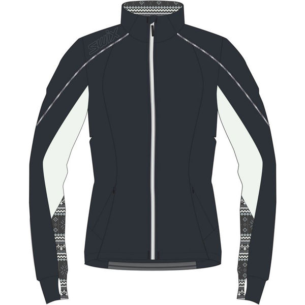 Picture of SWIX CROSS COUNTRY SKI JACKET LISMARK TECH BLACK FOR WOMEN
