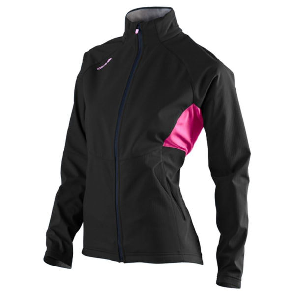 fc58319ca SUGOI CROSS COUNTRY SKI JACKET FIREWALL 220 BLACK/PINK FOR WOMEN