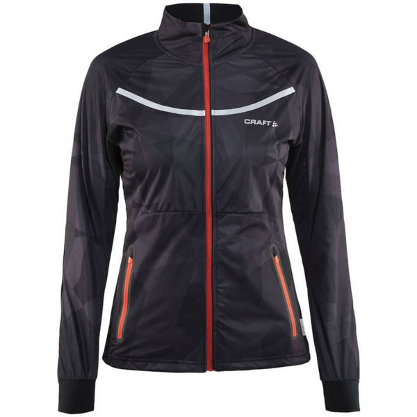 Picture of CRAFT CROSS COUNTRY SKI JACKET INTENSITY BLACK FOR WOMEN