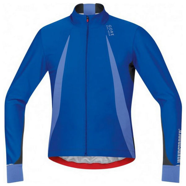 Picture of GORE BIKE JACKETS OXYGEN WINDSTOPPER BLUE FOR MEN