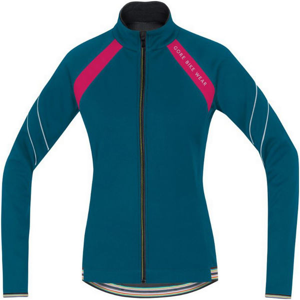 Picture of GORE BIKE JACKET POWER 2.0 WINDSTOPPER BLUE/PINK FOR WOMEN