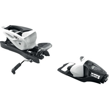 Picture of LOOK ALPINE SKI BINDINGS NX JR 7 B83 BLACK/WHITE