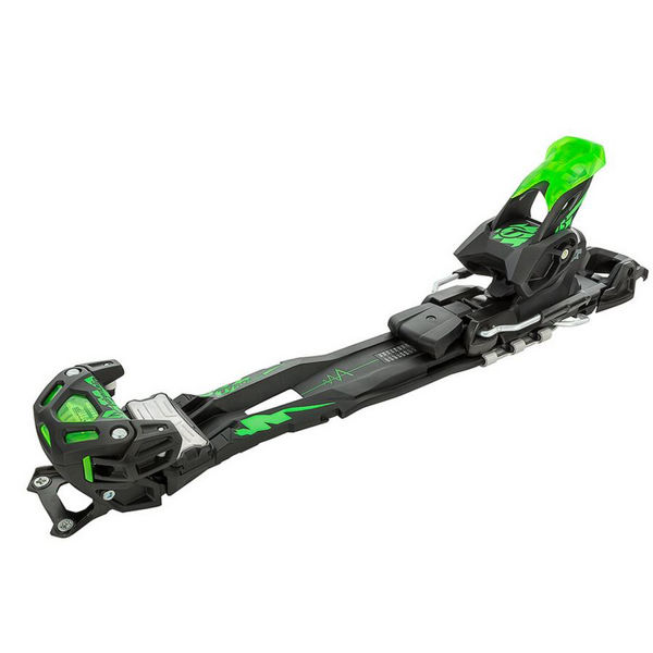 Image sur FIXATIONS DE SKI ALPIN HEAD ADRENALINE 13 LONG W/O BRAKE NOIR/VERT
