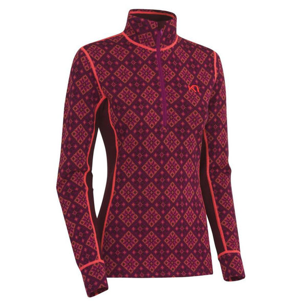 Picture of KARI TRAA ALPINE SKI SWEATERS ROSE H/Z WINE FOR WOMEN