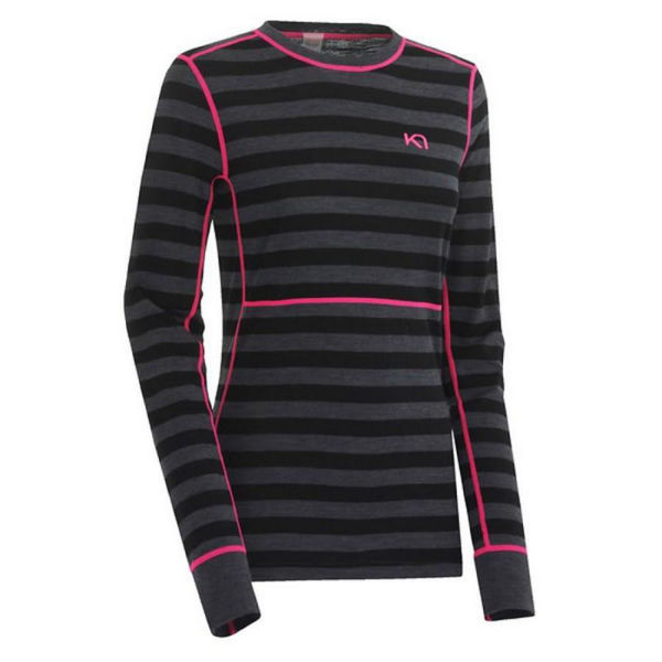 Picture of KARI TRAA ALPINE SKI SWEATERS ULLA LS EBONY FOR WOMEN