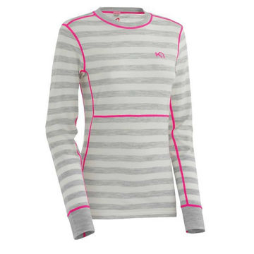 Picture of KARI TRAA ALPINE SKI SWEATERS ULLA LS GREY FOR WOMEN