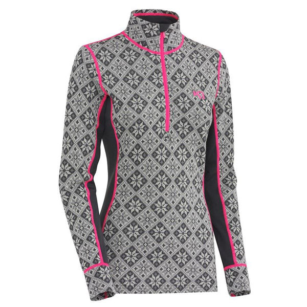 Picture of KARI TRAA ALPINE SKI SWEATERS ROSE H/Z EBONY FOR WOMEN