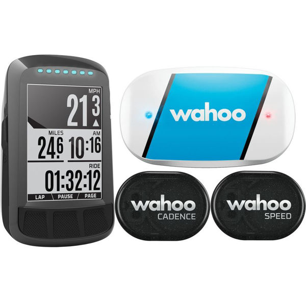 Picture of WAHOO BICYCLE CYCLOMETER ELEMENT BOLT GPS BUNDLE
