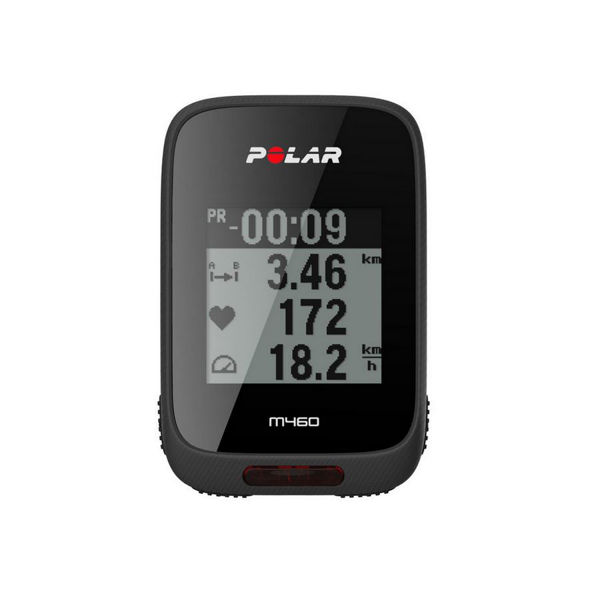 Picture of POLAR BICYCLE CYCLOMETER M460 HR BLACK