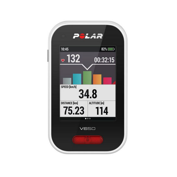 Picture of POLAR BICYCLE CYCLOMETER V650 HR+ SPEED/CADENCE