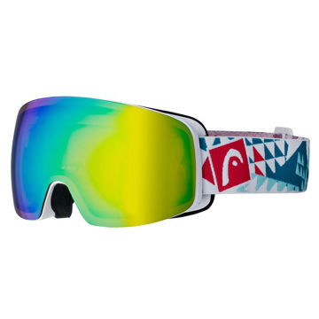 Picture of HEAD ALPINE SKI GOGGLES GALACTIC FMR WHITE/BERRY FOR JUNIORS