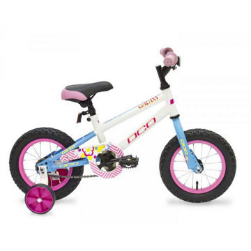 Picture of DCO BIKE GALAXY 12'' WHITE/BLUE 2017 FOR JUNIORS